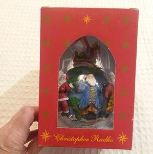 Christopher Radko Santas Around The World